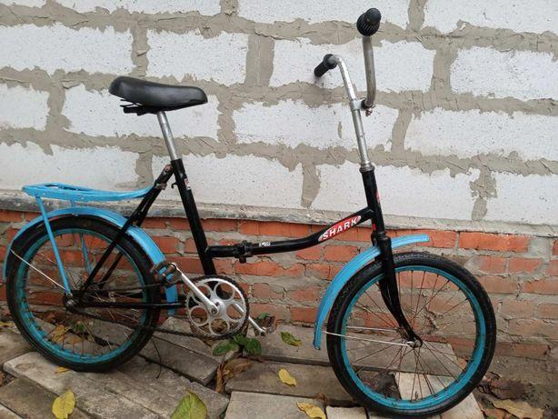 Продам Итальянский складной велосипед SHARK.
