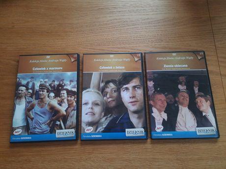Kolekcja 3 filmów DVD  Andrzej Wajda
