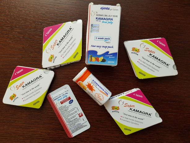 Kamagra tabletki,  żele