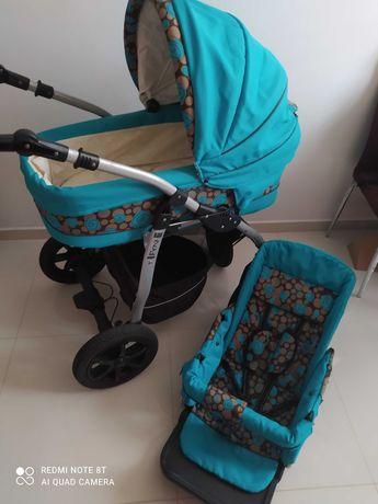 Wózek 2w1 gondola i spacerówka
