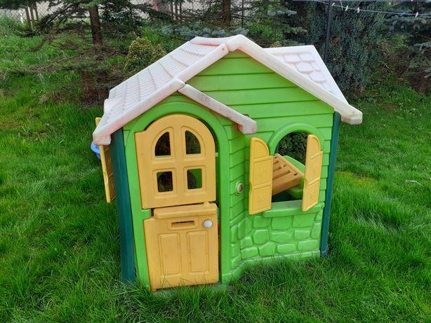 Domek plastikowy dla dzieci