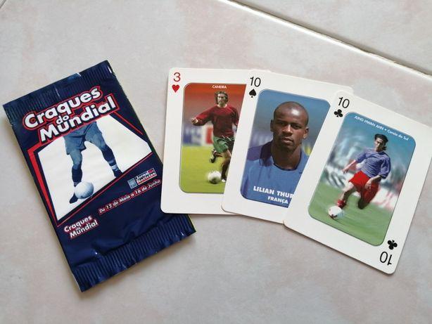 Cromos/cartas de Futebol