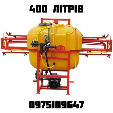 Польовий навісній штанговий обпріскувач Polmark 200 300 400 500 600 л