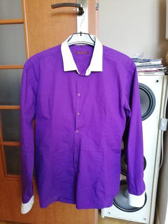 Sprzedam koszulę marki Rewiev (fioletowa/roz. L)