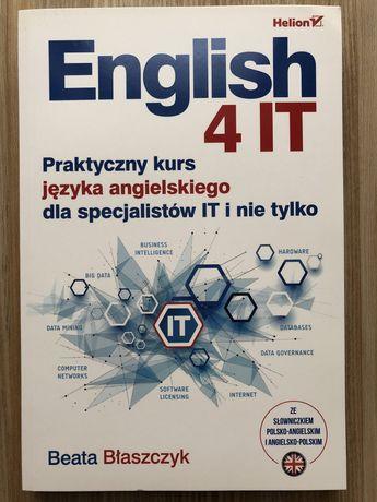 English 4 IT - kurs angielskiego dla IT - Błaszczyk - Helion