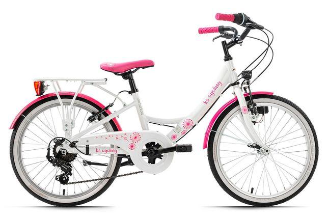 """Rower młodzieżowy 20 """" miejski dziewczęcy Dandelion KS Cycling"""