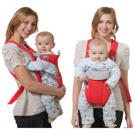 Слинг-рюкзак для переноски ребенка Baby Carriers. Рюкзак-кенгуру