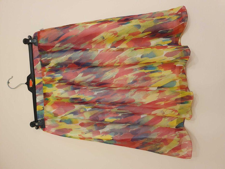 Kolorowa spódnica z szyfonu Rakszawa - image 1