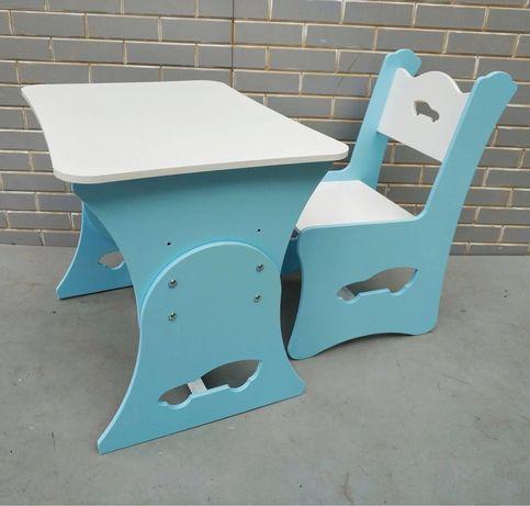 Детский столик и стульчик, столик для мальчика 2-7 лет