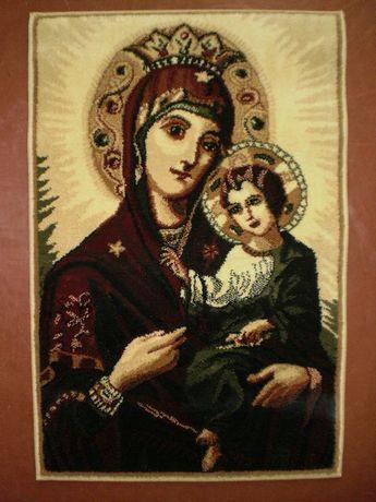 Коврик настенный с изображением Девы Марии