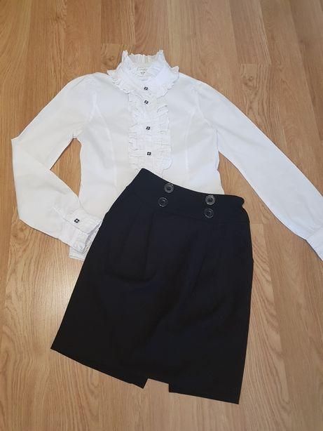 Фирменные вещи ТМ COLABEAR для школы на 8-12 лет, юбка, блузка