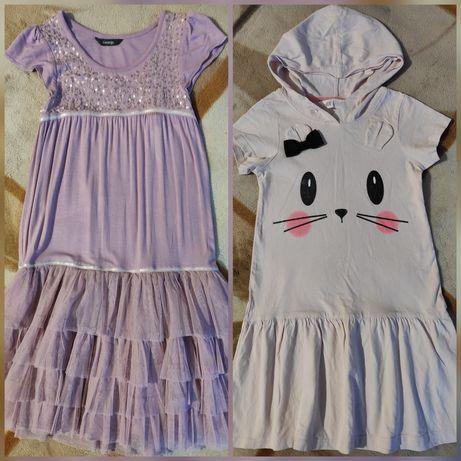 Красивые летние платья на 7лет, h&m и george, Англия