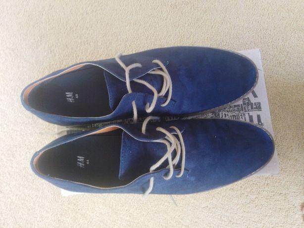 Туфлі чоловічі H&m замшеві