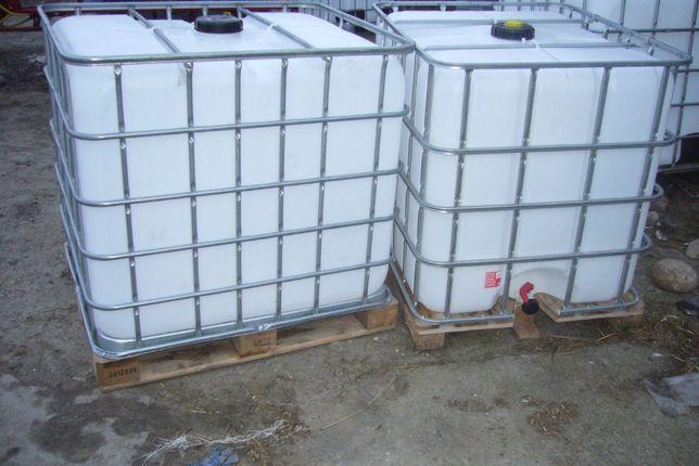 Zbiornik 1000 l RSM paliwo woda mauser