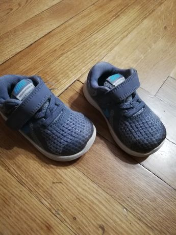 Nike revolution 4, buciki dziecięce szare rozm. 21