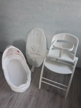 Baby dan angel łóżeczko leżaczek krzesło 3w1