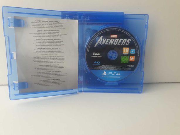 Avengers  Ps4 Polska wersja