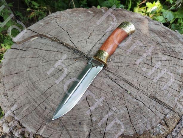 """Нож ручной работы """"БОЯРИН"""" сталь N690, ніж мисливський ручної роботи"""