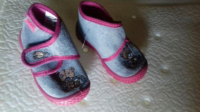 Nowe buciki dla dziewczynki rozmiar 18