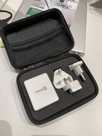 Kit adaptador universal de viagem - 3 entradas USB NOVO