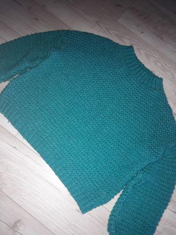 Итальянский свитер крупной вязки oversize