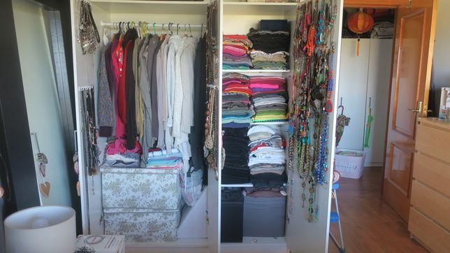 Roupeiros (wardrobes) 1,40m (l) x 1,80m (altura) x 0,60m profundidade
