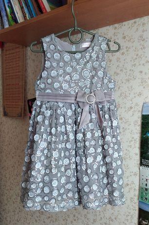 Оригинальное нарядное платье Colabear на 3 - 5 лет