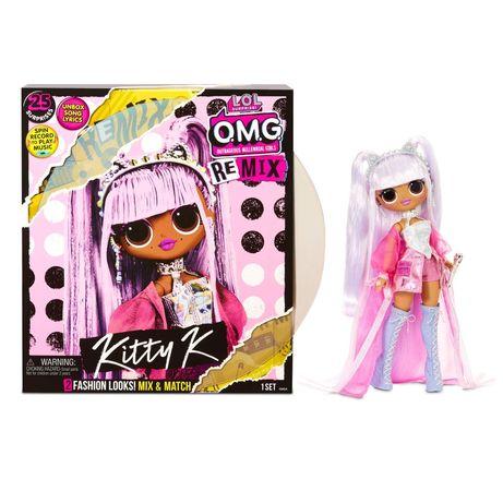 ЛОЛ ОМГ Королева Китти Ремикс. L.O.L. Surprise OMG Remix Kitty K