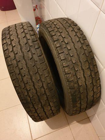 2 pneus Bridgestone 195/75R16