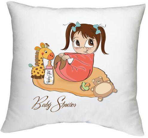 Poduszka baby shower baby girl prezent dla dziecka