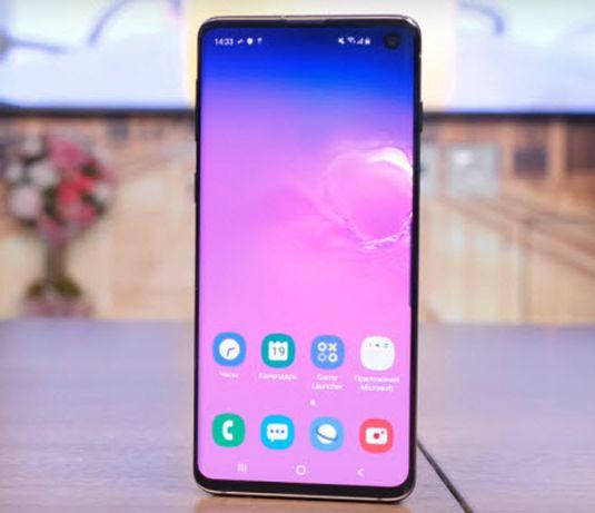 Телефон сматфон Samsung S10 / Самсунг С10, зручний і лаконічний