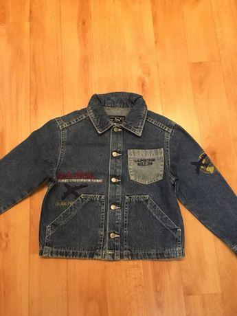 Пиджак джинсовый,ветровка,куртка,джинсовка,р116