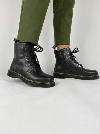 Женские ботинки демисезонные натуральная кожа dr martens 1460