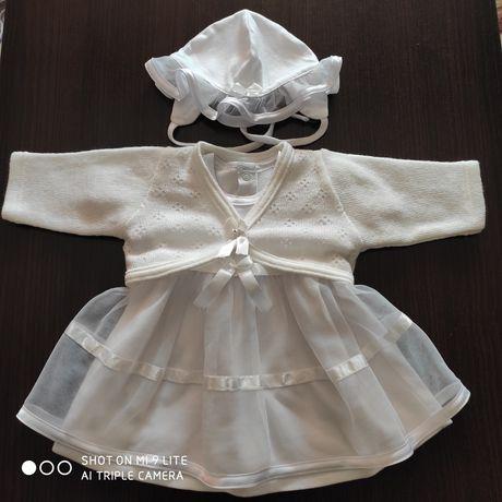 Sukienka na chrzest roz. 62