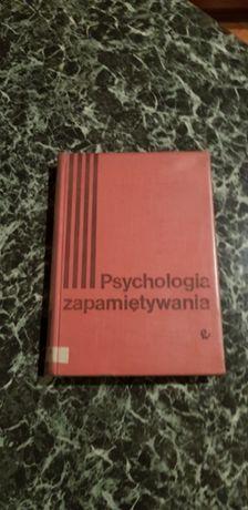 Psychologia zapamiętywania - W. Szewczuk