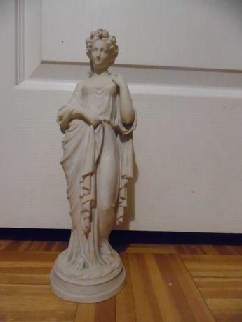 Figurka z białego biskwitu, XIX/XX w.
