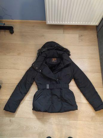 Damska kurtka zimowa czarna rozmiar XL