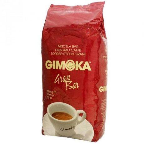 Кава GIMOKA Rosso Gran Bar(червона) кофе зерно 1кг. Гурт. ОПТ,мелена