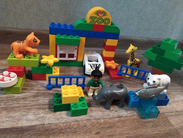 Конструктор Лего дупло зоопарк Lego duplo