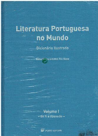 7415 - Dicionário - Literatura Portuguesa no Mundo (8 Volumes)