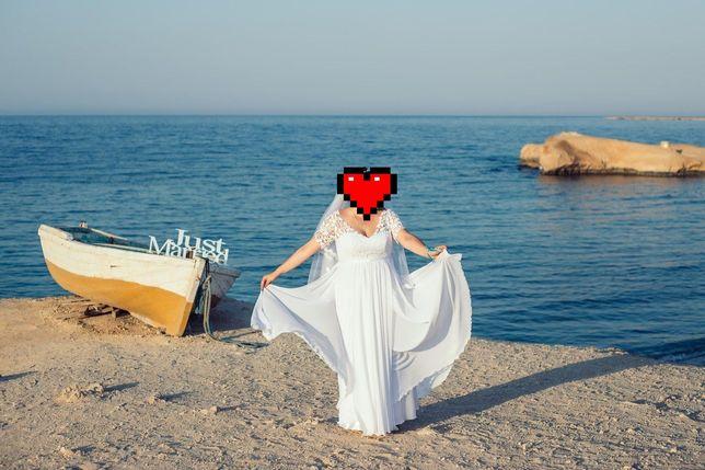 Свадебное платье белое  Laura Style.