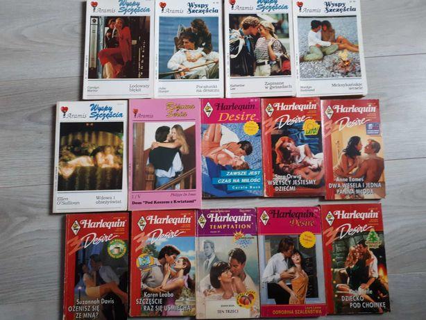 Książki romanse pakiet 14książek