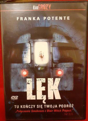 Thriller DVD Frank Potente - Lęk, nowy, polski lektor