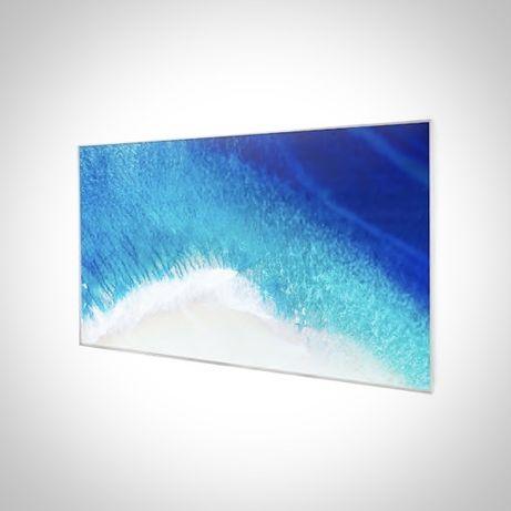 Grzejnik na podczerwień z obrazem 60 x 101 cm, 600 W, naścienny montaż