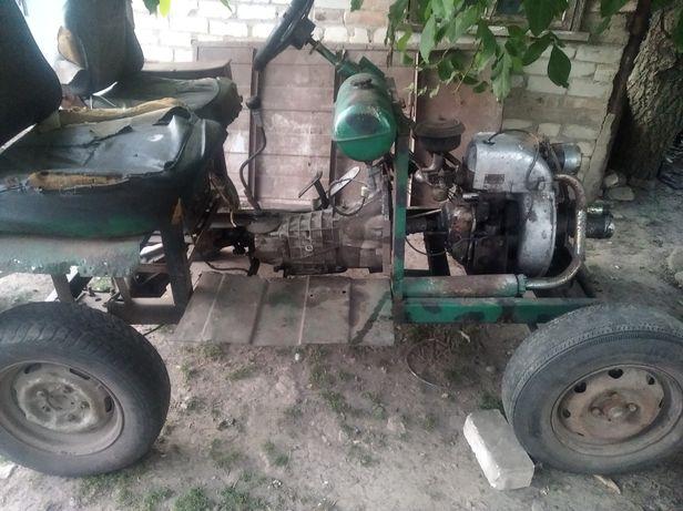 Саморобний трактор зід 4.5