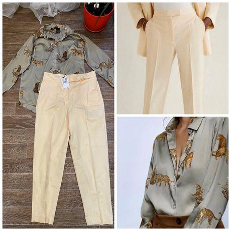 Продам рубашку, блузку Zara, брючки Mango, H&M, Zara