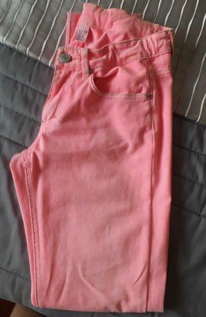 Calças de ganga rosa Zara