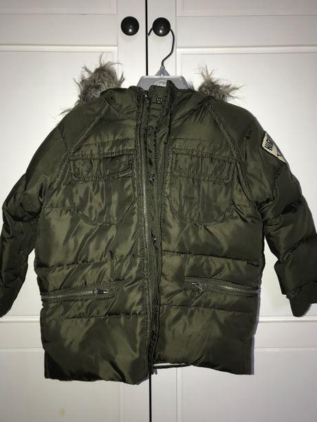 Piękna ciepła puchowa kurtka ZARA Kids 98 cm, 2-3 lata