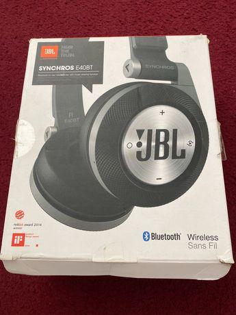 Гарнiтура JBL Synchros E40BT Black (E40BTBLK)