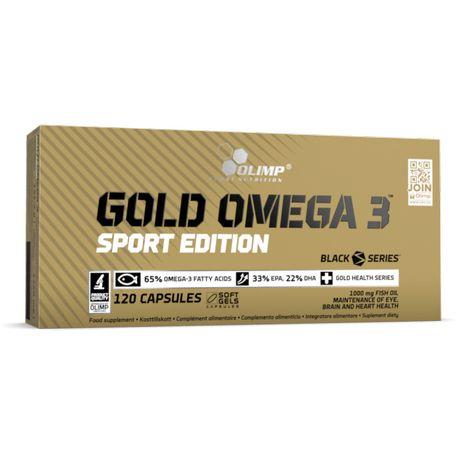 OMEGA 3 OLIMP Sport Edition 120kaps Serce Kości Odporność Zdrowie Tran